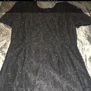 Women's Size 10 100% Silk Cocktail Dress-Worn Once